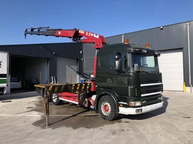 Scania 114.340 + HMF 3620 - 1999