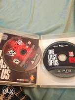 The last of and 2k16 ps3 disk
