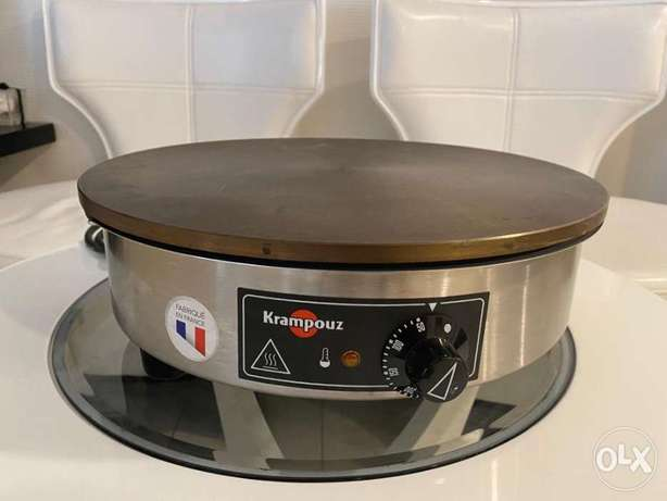 Crepe Machine 'Krompouz' brand slightly used in excellent condition