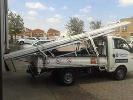 Hyundai H100 bakkie and driver for hire