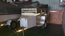 Venter Bush Baby Camping trailer