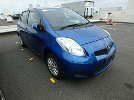 Toyota Vitz blue available new arrival