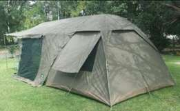 Canvas dome tents