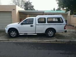 Canopy Isuzu back bumper and side steps for sale