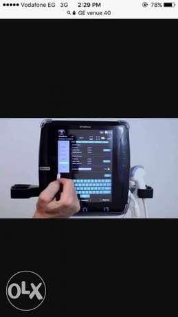GE venue 40 portable ultrasound with linear probe, جهاز اشعه محمول مع
