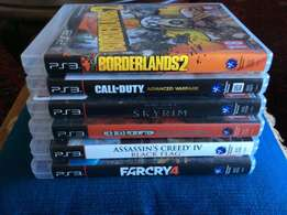 PS3 Games for R80 each
