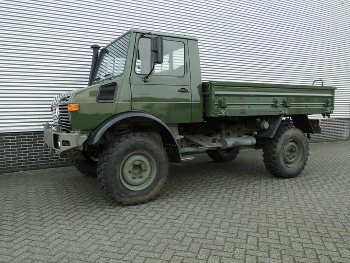 Unimog U1350L U1350L turbo Snelle assen - 1997