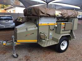 Challenger 4X4 Off Road Camping Trailer including ARB Freezer