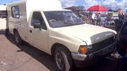Isuzu tougher pickup petrol in good working condition now selling