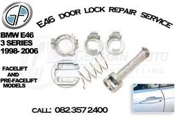 Bmw E46 door lock repairs