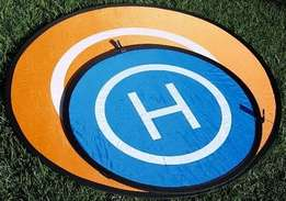 Fast-fold landing pad helipad protective for Quadcopter