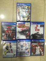 PlayStation 4 CDs games