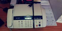 Fax machine samsung sf-345tp inkjet