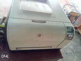Very clean HP LaserJet printer (4 Colours)