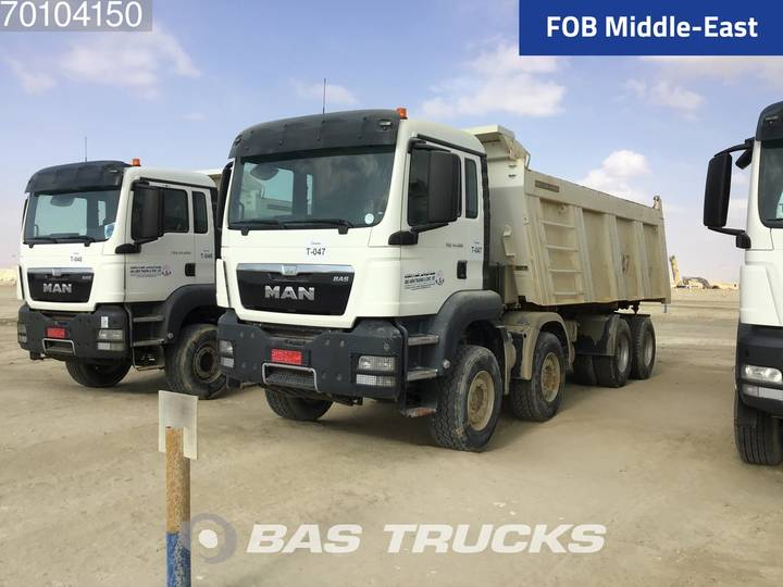 TGS 41.400 8X4 Manual Big-axle Steelsuspension Euro 2 - 2017