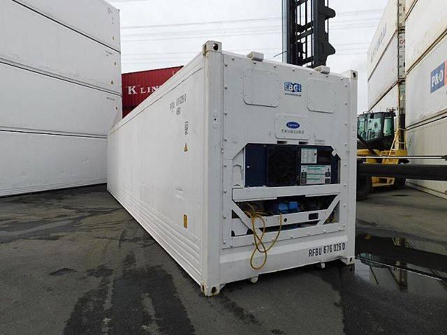 Carrier 40 ft. hc kühlcontainer reefer kühlzelle - 2004