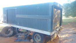 Old SARS container trailer