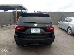 Registered 2005 BMW X3