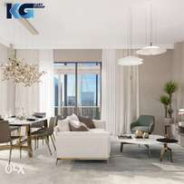 Apartments for sale with pool and garden in Dubai Creek Harbour