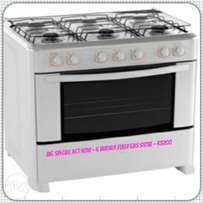 6 Burner Fully Gas Stoves