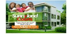 Acres of land with c of o is available for sale