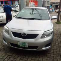 2010 Toyota Corolla LE- 2 months registered.