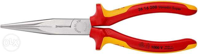 KNIPEX Snipe Nose Side Cutting Pliers (Stork Beak Pliers) 1000V-insula