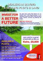 Matangi-ini next to murera sec plots on sale with ready title deed