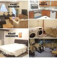 Manqaf - Fully Furnished 1, 2 & 3 BR with Balcony / Rent 300 up to 550