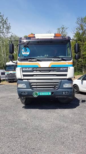 DAF CF 85.460 8x4 Kipper - 2009