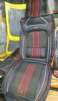 Red/black seat covers