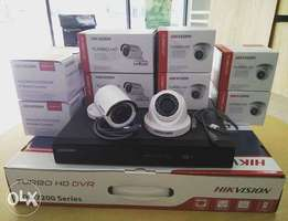 High Quality Commercial 8 CCTV Camera Systems Installation