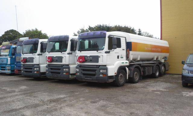 MAN 35.430 24000 liter ADR Tank Fuel - 2005