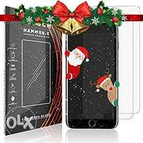 Christmas Offer on Iphone 7/8 3D Curved Tempered Glass