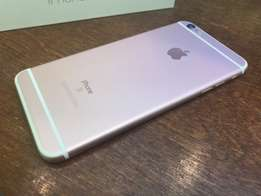 iPhone 6s Plus rose gold 64gb unlocked with box
