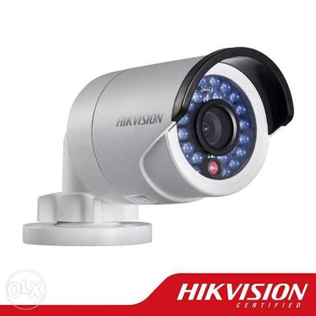 "hikvision cctv camera-Full HD (2MP)-with 4CH DVR 1TB 20""LCD Installion"