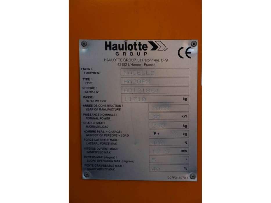 Haulotte HA20PX - 2008 - image 6