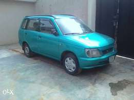 A clean regstered Daihasu car for sale, 2000.