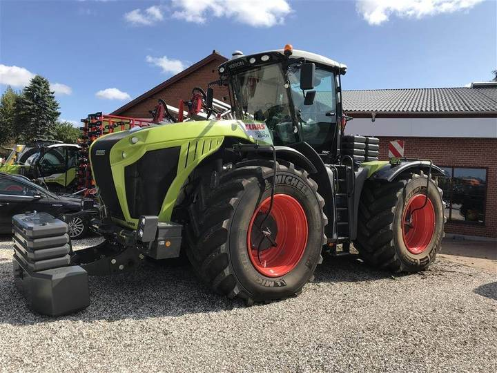 Claas Xerion 5000 Trac Dæk Tryk Regulering - 2018
