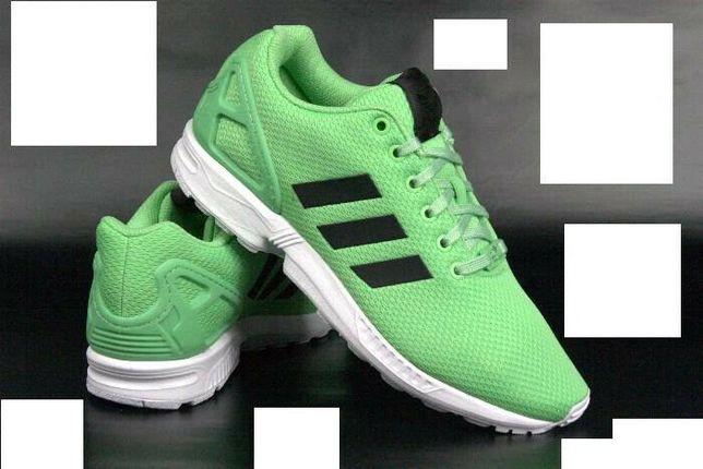 NOWE Adidas ZX Flux ładna zieleń ! r. 45 13 , wkładka 29 cm