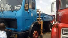 Mercedes Benz tipper and hayab for sale