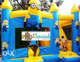 Themed bouncing castles.