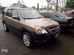 Nigeria used 2004 Honda CRV at affordable prices