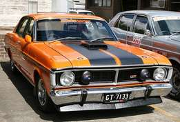 Ford Fairmont GT bonnet and bumpers wanted