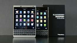 Blackberry passport silver Edition brand new and sealed in ashop