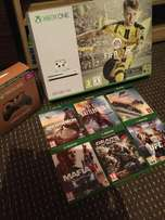 Xbox One S 500GB Console FIFA 17 Tom Clancy's Division 2 Controller