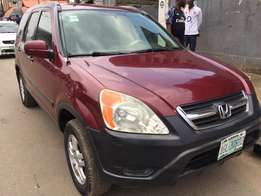 First body Honda CRV 2003