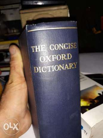 The Concise Oxford Dictionnary