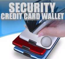 Security credit card holder/wallet