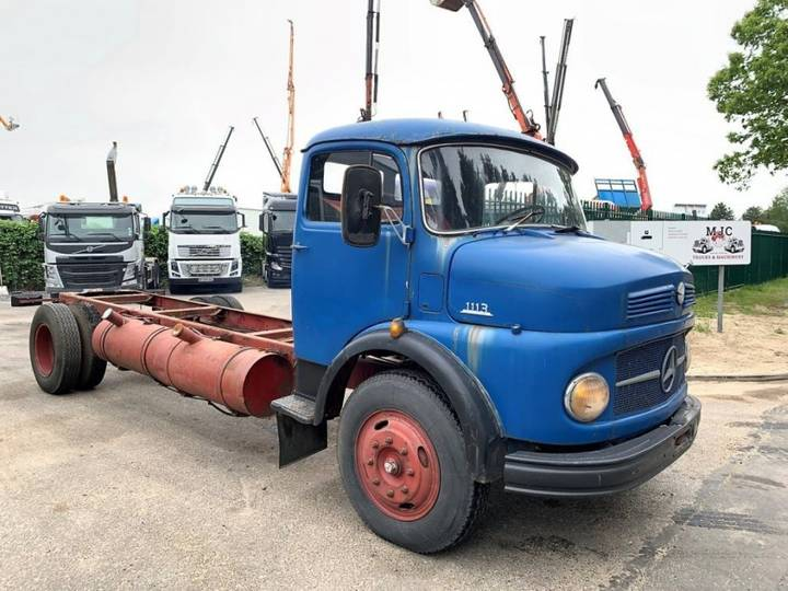 Mercedes-Benz L 1113 HAUBE - CHASSIS CABINE - VERY GOOD CONDITION / TRES - 1966